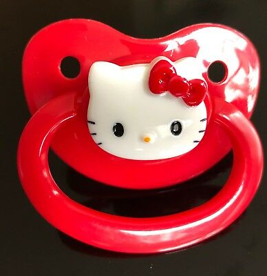 Adult Baby ABDL Pacifier Dummy NUK 5/6 Style Sissy DDLG Kawaii AB Nappy Diaper
