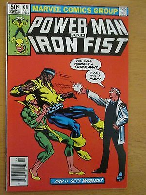POWER MAN & IRON FIST Lot of 3 Marvel Comics - # 65 67 68 Frank Miller NM 9.4!