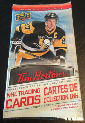 2016-17 Upper Deck Tim Horton's Base Cards! U Select From Scroll Down