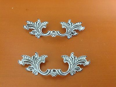 X036B VTG French Provincial Handle White Wash Shabby Chic! Two Available