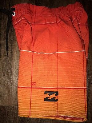Billabong Boys Size 5 Board Shorts Orange