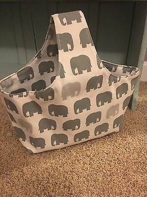 Elephant Diaper Caddy