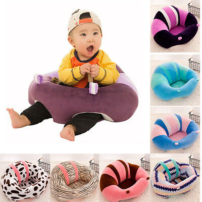 Soft Infant Sitting Chair Baby Floor Seat Support Cushion Protective Pillow