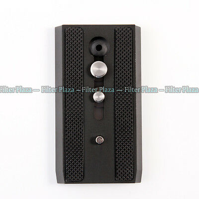 501PL Sliding Dovetail Quick Release Plate for Manfrotto 501HDV 503HDV Tripod US