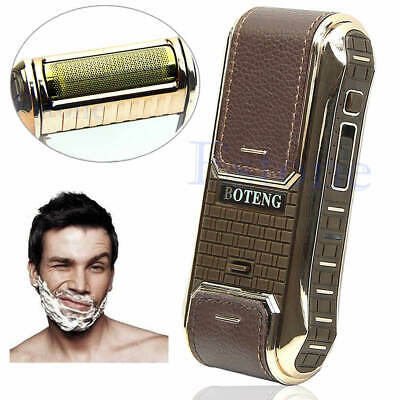 Men's Rechargeable Electric Hair Clipper Trimmer Razor Shaver Beard Grooming Kit