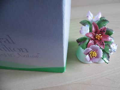 Royal Doulton Nearest To Nature Blue Clematis Ex Display