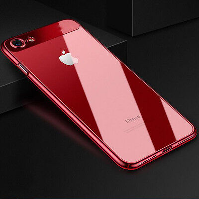 Super Slim SHOCKPROOF Soft Silicone+Hard PC Case Cover For iPhone 8 6s 7 Plus