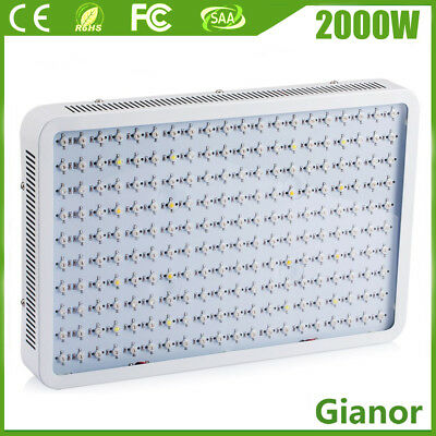 1500W 2000W 3000W LED Plant Grow Light Full Spectrum Lamp Indoor Veg&Flower 110V