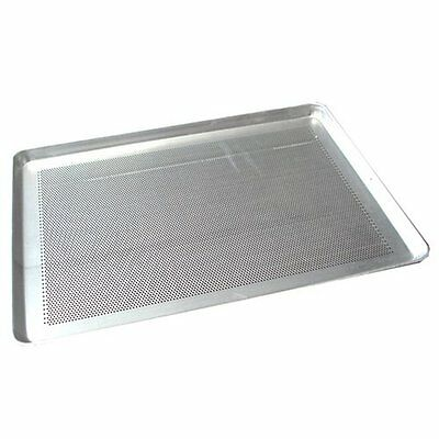 "Winco ALXP-1318P 13"" x 18"" Perforated Aluminum Sheet Pan, Half Size"