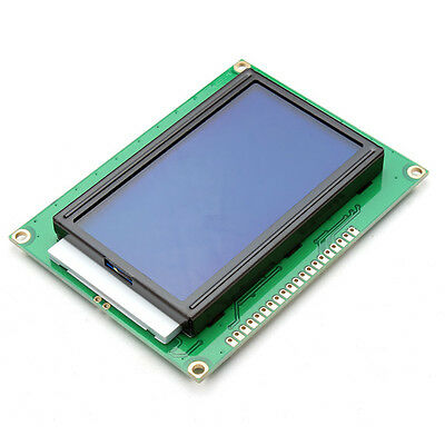 3Pcs 12864 128 X 64 Graphic Symbol Font Lcd Display Module Blue Backlight For