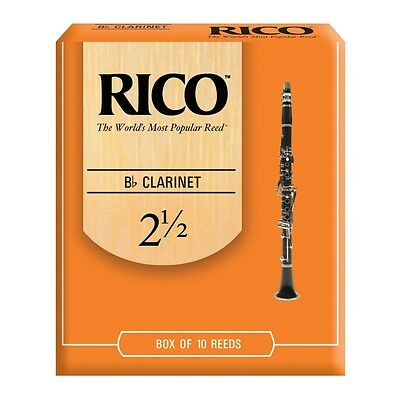 Rico Rca1025 Cf. 10 Ance Per Clarinetto In Sib 2 1/2