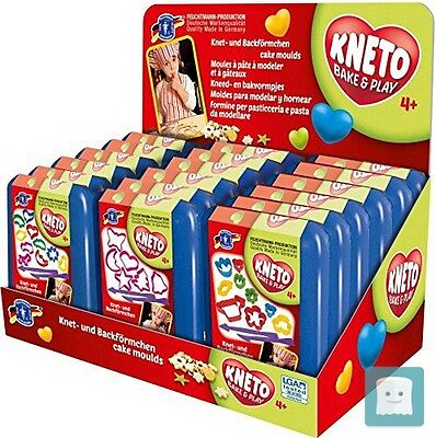 Feuchtmann Kneto Bake And Play Cutters (Set Di 3)