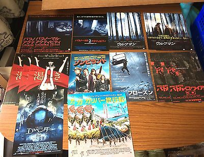Job Lot - Horror & Fantasy Film Posters From Japan- Rare!