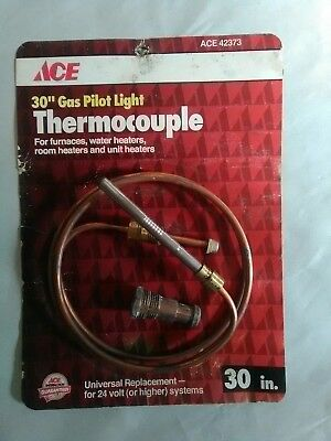 thermocouple for furnaces water heaters Room heaters and unit heaters.