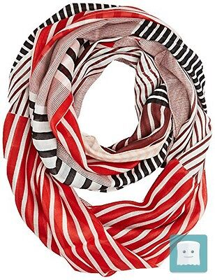 Tom Tailor Stripe Printed Tube, Foulard Donna