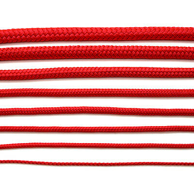 Red Poly Rope Polyrope Polypropylene Polyprop Agriculture Tarpaulins Marine