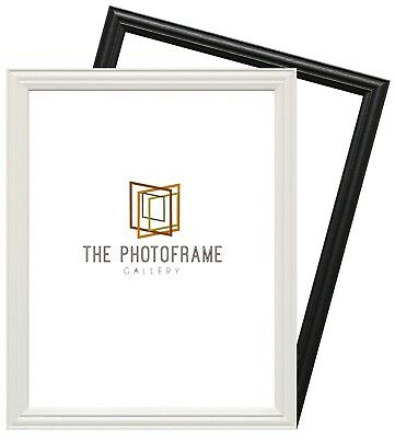 LW Antique Traditional Wood Effects Photo Frames Square Poster Frames  All Sizes