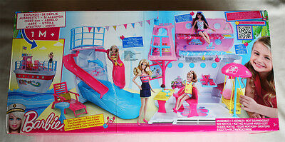 Barbie: Sisters´ Cruise Ship (2011). Expands +1M! Pool, Bunk! Brand New In Box!