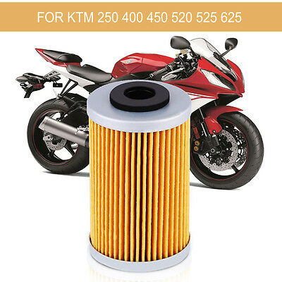 1x Replacement MOTORCYCLE SCOOTER OIL FILTER MF for KTM 250 400 450 520 525 625