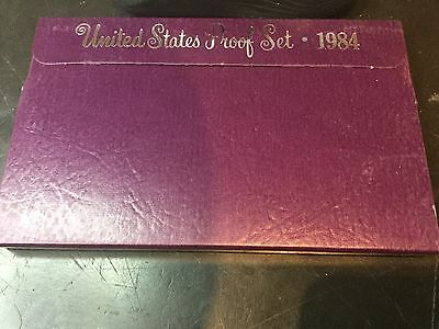 Incredible 1984 S United States Proof (5) Coin Set w/ Box
