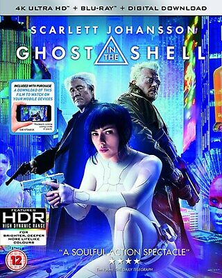 Ghost in the Shell (4K Ultra HD + Blu-ray + Digital Download) [UHD]
