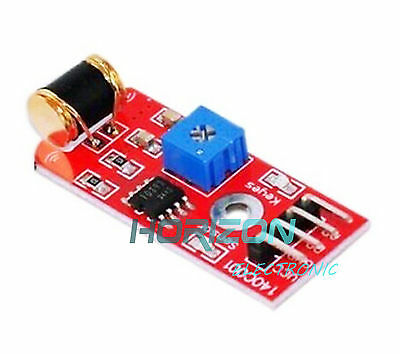 2PCS 801S Vibration Sensor Module vibration Analog Output Sensitivity LM393 NEW