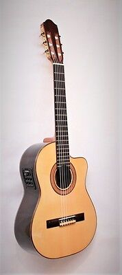 Raimundo Requinto 1498 C/E Professional German Spruce & Indian Rosewood, New