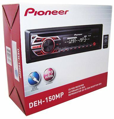 Pioneer DEH-150MP In-Dash CD/AM/FM/ Car Stereo Receiver Front AUX