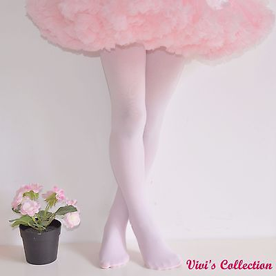 100 Denier Ballet Tights for Girls Kids Children Dancing Footed 3-14 Years