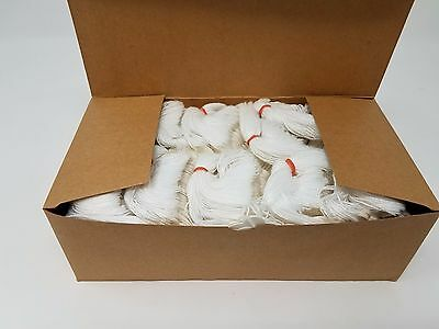 "Box of 1000 MD8 Merchandise Tags White with String 2-7/8"" x 1-3/4"""
