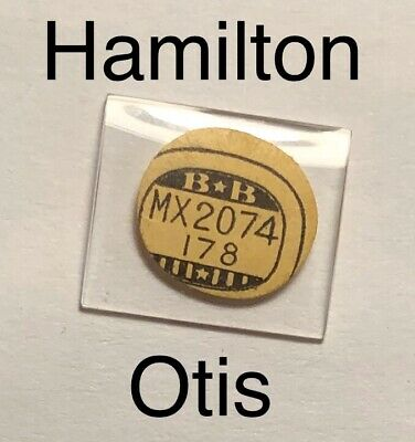 NOS Vintage Hamilton Otis Watch Glass Crystal Antique Rare