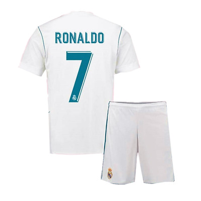 Ronaldo 17/18 Football Home Kits - Jersey  FOR KIDS & Adult