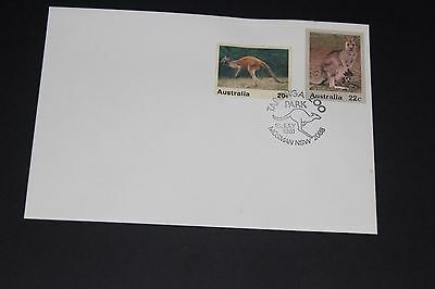 Aust 1981 Scarce Taronga Park Zoo Souvenir Cover Kangaro With 1 Zoo Cinderelas