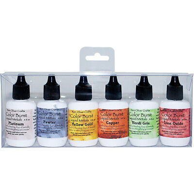 Ken Oliver Color Burst Liquid Metal Assortment Heavy Metals KNCLMA-6613