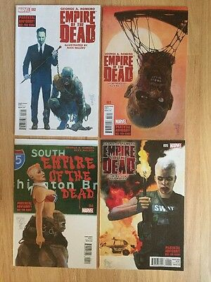 George Romero Empire Of The Dead Act #1   Issues #2,3,4 and 5 All MINT