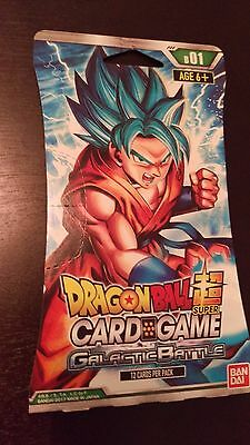 Dragon Ball Super Galactic Battle Booster Pack TCG Sealed