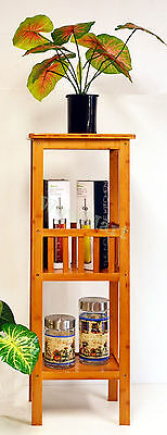 New Bamboo Multi-Function Home Storage Shelf Bookcase Flower Stand (TYJ-67)