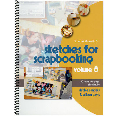 Scrapbook Generation Sketches For Scrapbooking Volume 8 SG-SV8