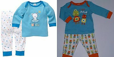 Boys' PJs Set x 2 - Size 1 or 12-18 Months