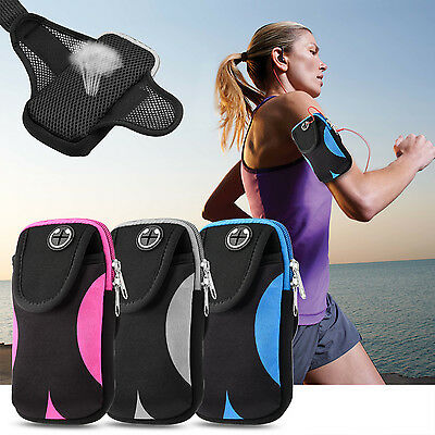 Sport Running Armband Jogging Gym Arm Band Pouch Holder for iPhone 8 Plus 7 6 X