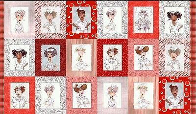 Nifty Nurses Quilt Panel * In Stock * Free Post *