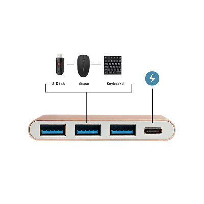USB-C Hub Thunderbolt 3 Adapter Type-C to USB 3.0 USB C to USB A Multiport