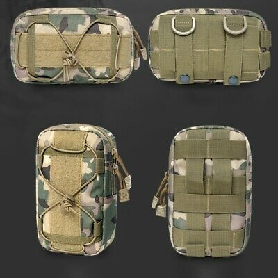 Tactical MOLLE Waist Bag Outdoor Utility Tool Bag Phone Pouch for Belt /Vest HOT