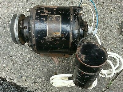 Crompton Parkinson AC Motor 1/4 hp good working order. Collection only