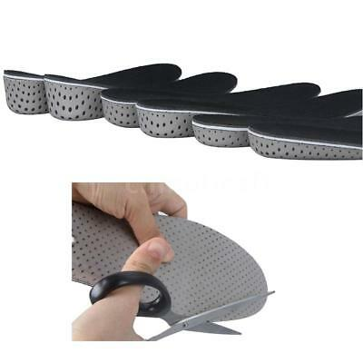 Increase Height High Full Insoles Memory Foam Shoe Inserts Cushion Pads K3F9