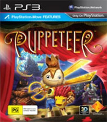 Brand New Puppeteer Game For Sony PS3 !!!!!!