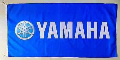 YAMAHA FLAG BLUE - SIZE 150x75cm (5x2.5 ft) - BRAND NEW