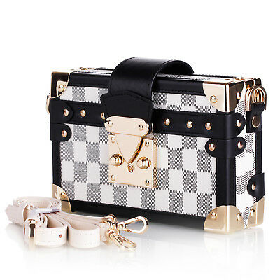 Metallic Women's Clutch Bag Satchel Handbag Strap Elegant Bag Evening Bag AU