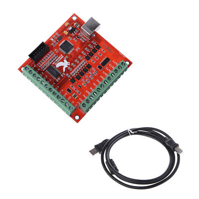 USB CNC MACH3 100Khz Breakout Board 4 Axis Interface Driver Motion Controller