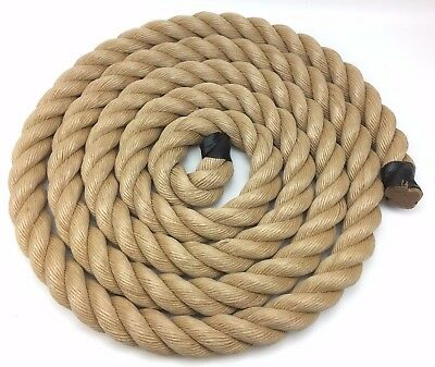 50mm Synthetic Manila Rope x 20 Metres, Decking, Garden, Boating, Manila Rope
